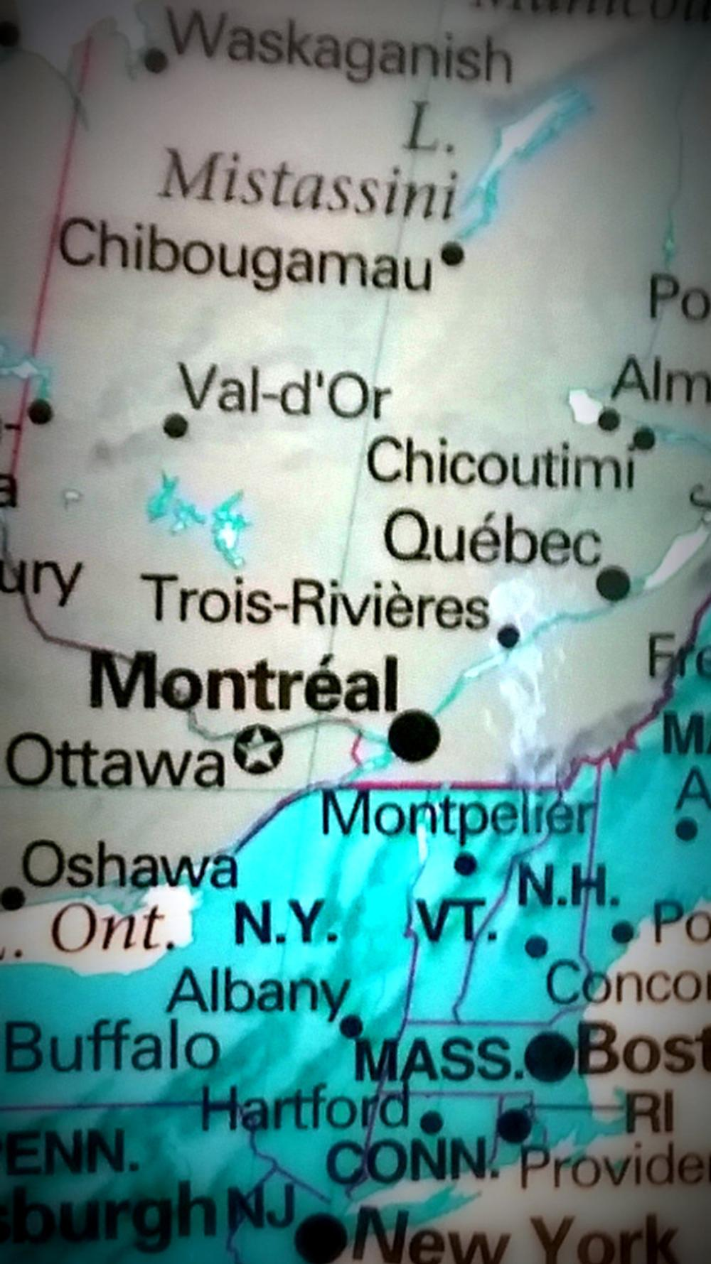 map of quebec and montreal