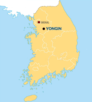 map of yongin, sk
